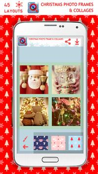 Christmas Pic Frames&Collages apk screenshot