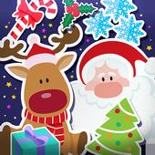 Christmas Photo Stickers icon
