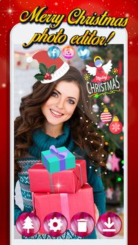 Christmas Photo Stickers screenshot 1