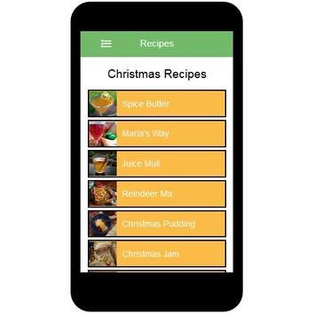 Christmas Recipes screenshot 1