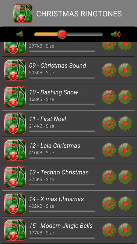 christmas ringtone songs apk screenshot - Christmas Ringtones Android