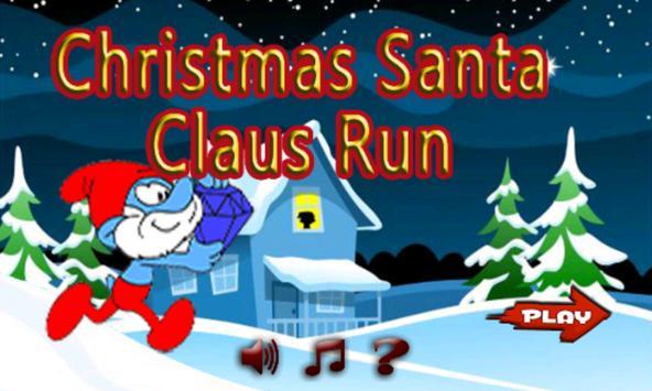 Christmas Santa Claus Run poster