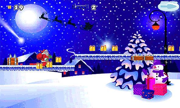 Christmas Santa Run-jump 🎅🏼 screenshot 17
