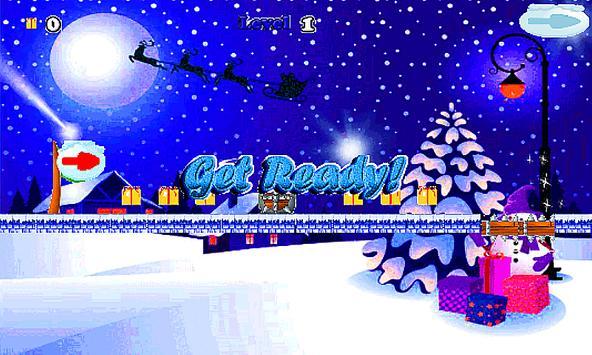 Christmas Santa Run-jump 🎅🏼 screenshot 10