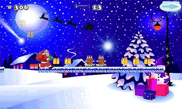Christmas Santa Run-jump 🎅🏼 screenshot 13