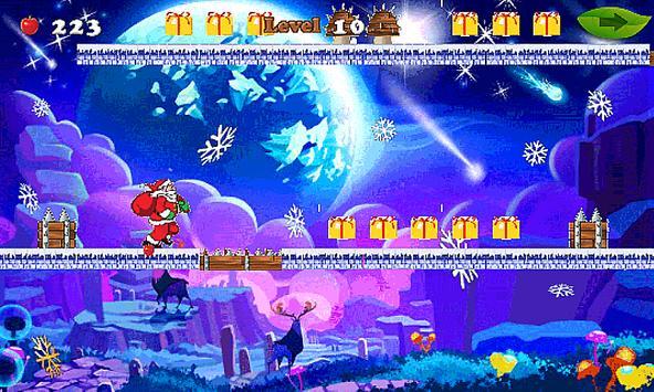Christmas Santa Run-jump 🎅🏼 screenshot 1