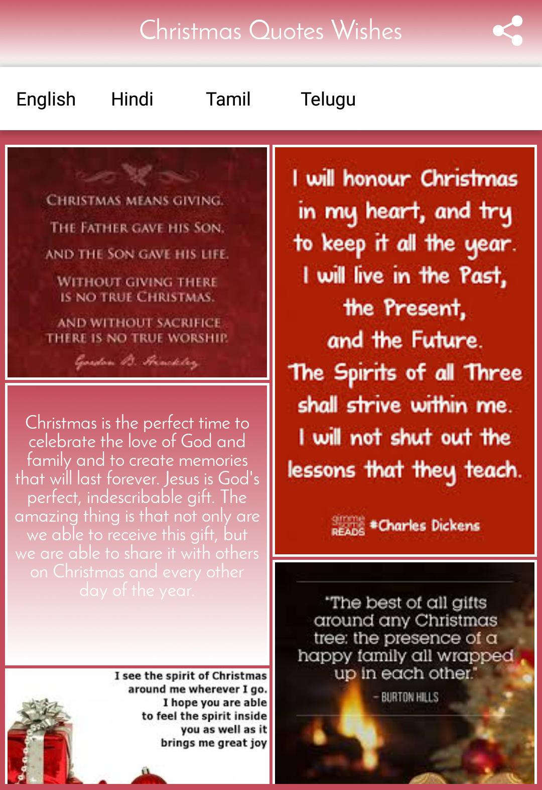 Christmas Quotes Wishes for Android - APK Download