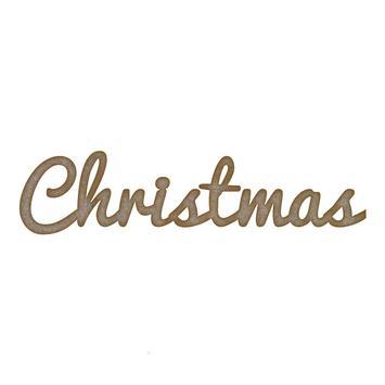 Christmas Word poster