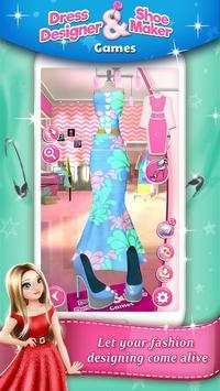 Dress Designer and Shoe Maker Games 👗👠 apk screenshot