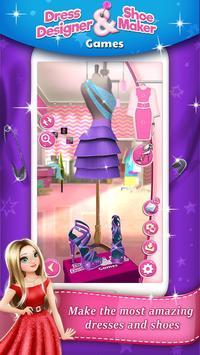 Dress Designer and Shoe Maker Games 👗👠 poster