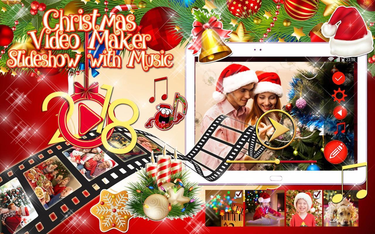 Weihnachts App Video 🎥 Bilder Diashow mit Musik für Android - APK ...