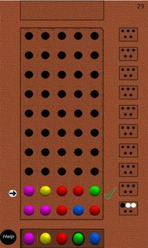 Mastermind apk screenshot
