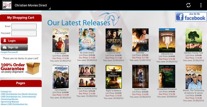 Christian Movies Direct apk screenshot