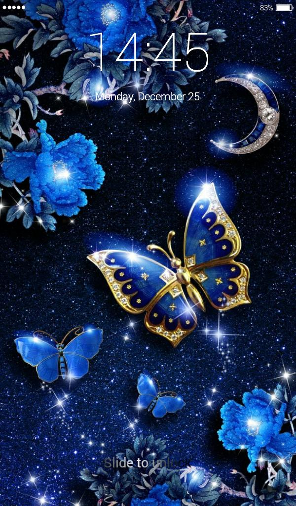 Butterflies Lock Screen Wallpaper For Android Apk Download