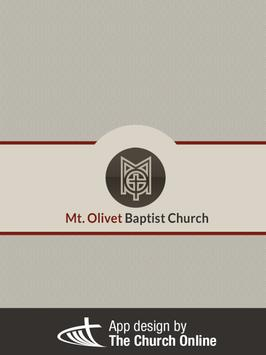 Mount Olivet Baptist Church apk screenshot