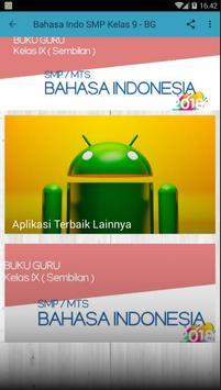 Bahasa Indonesia SMP Kelas 9 Revisi 2018 BUKU GURU poster