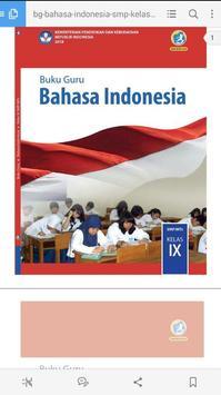 Bahasa Indonesia SMP Kelas 9 Revisi 2018 BUKU GURU screenshot 1