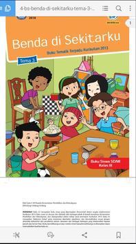 Buku Siswa SD Kelas 3 Tema 3 - Benda Di Sekitarku poster
