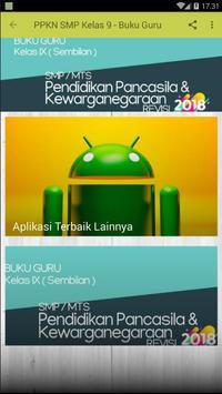 PPKN SMP Kelas 9 Revisi 2018 BUKU GURU poster