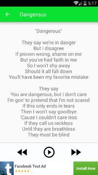 The XX Lyrics apk screenshot