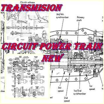 Circuit Power Train Car poster
