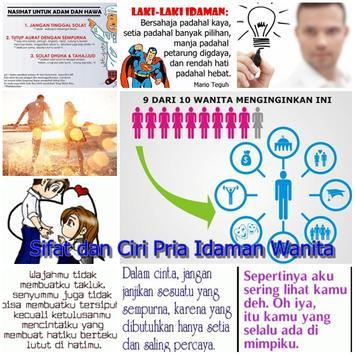 Ciri Sifat Pria Idaman Wanita poster