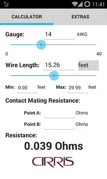 Wire Resistance Calculator poster