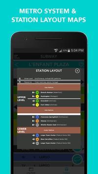CitySlqr: DC Metro WMATA App screenshot 4