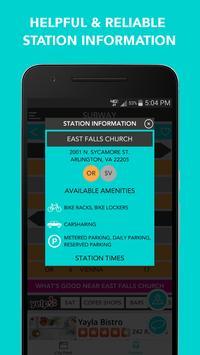 CitySlqr: DC Metro WMATA App screenshot 5