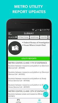 CitySlqr: DC Metro WMATA App screenshot 6