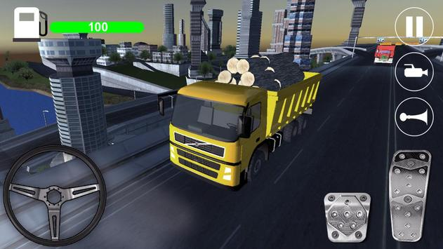 City Truck Driver apk screenshot