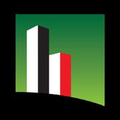 Cityscape Abu Dhabi icon