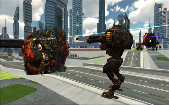 3D Robot Battle : City Wars poster