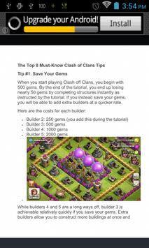 New Guide for Clash of Clans screenshot 2