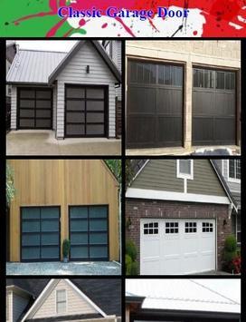 Classic Garage Door poster
