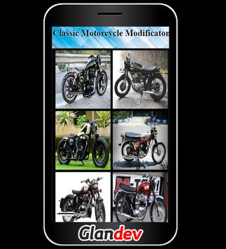 Classic Motorcycle Modificaton poster