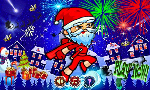 Classic santa Jump world 🎅🏼 poster