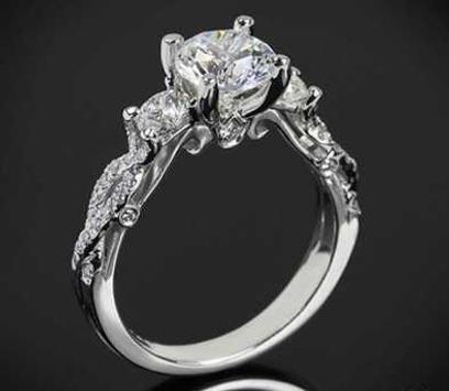 Classy Wedding Ring Design screenshot 5
