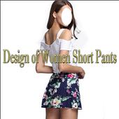 Design of Women Short Pants icon