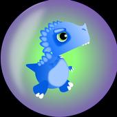 Dashin' Dino icon