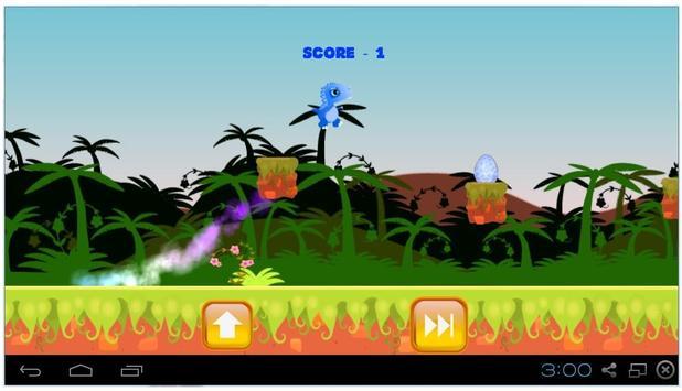 Dashin' Dino screenshot 1