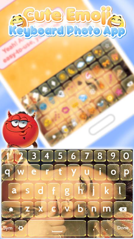 cute emoji keyboard app