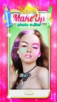 Glitter Makeup Face Editor poster