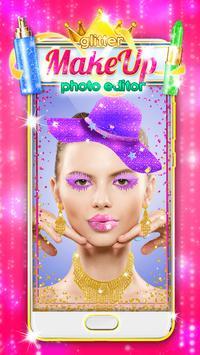 Glitter Makeup Face Editor screenshot 1