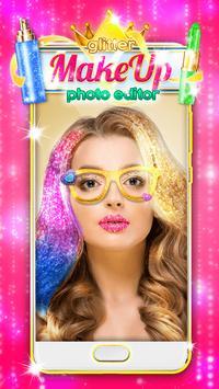 Glitter Makeup Face Editor screenshot 2
