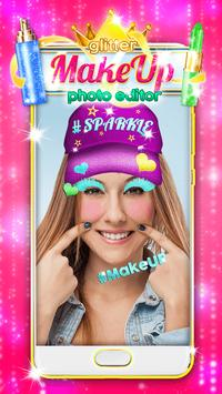 Glitter Makeup Face Editor screenshot 3