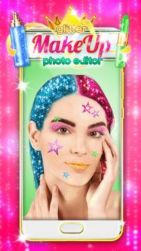 Glitter Makeup Face Editor screenshot 5