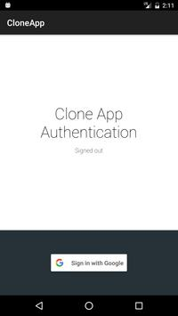 CloneApp-Save it before format poster