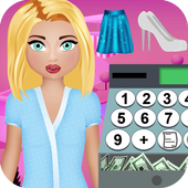 clothing store cash register icon