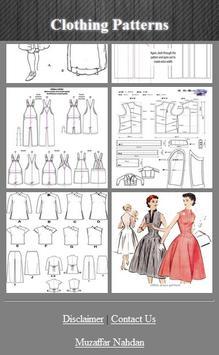 Clothing Patterns screenshot 2